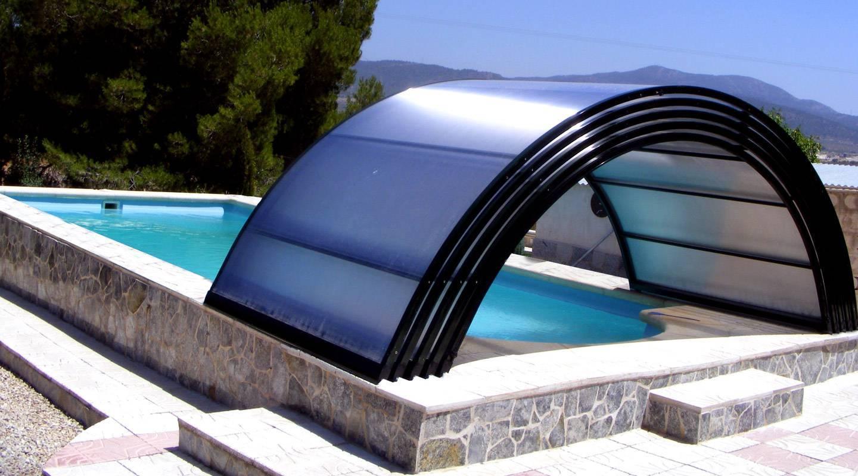 Funciones decorativas de las cubiertas para piscina for Cubiertas para piscinas