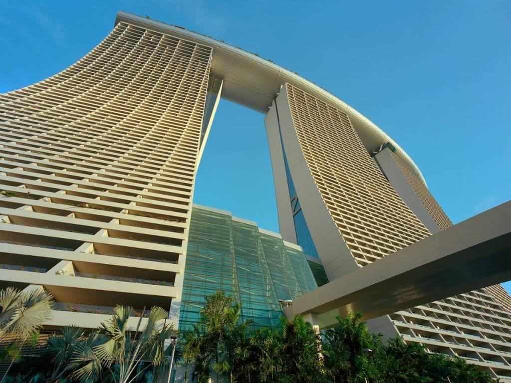hotel con piscina en las alturas singapour