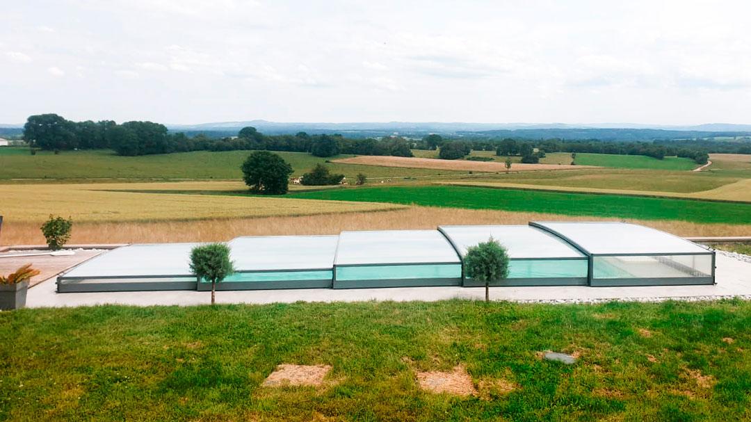 cubiertas para piscinas en Sevilla
