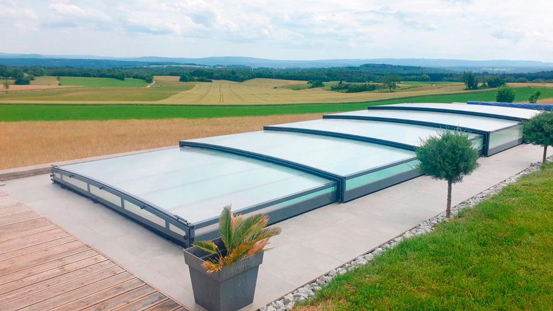 cubiertas para piscinas en Castellón