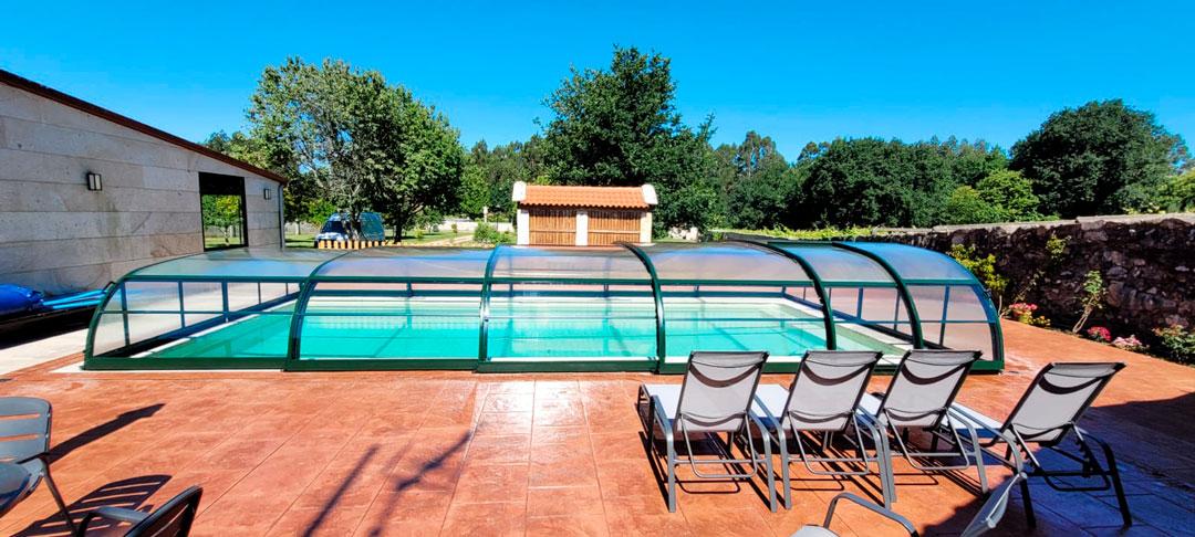cubiertas para piscinas en Pontevedra