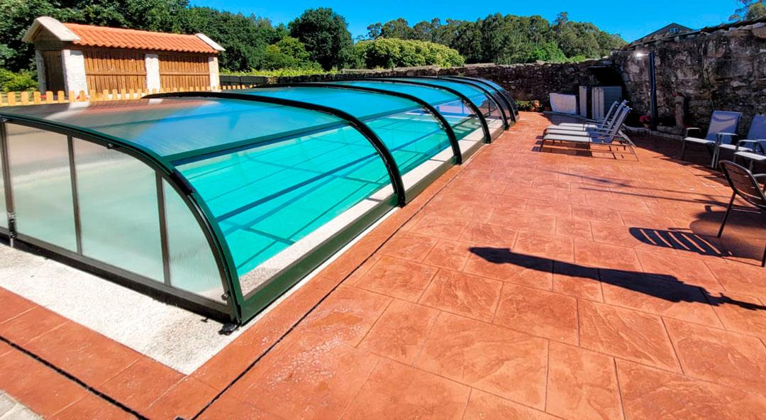 cubiertas para piscinas en Lugo