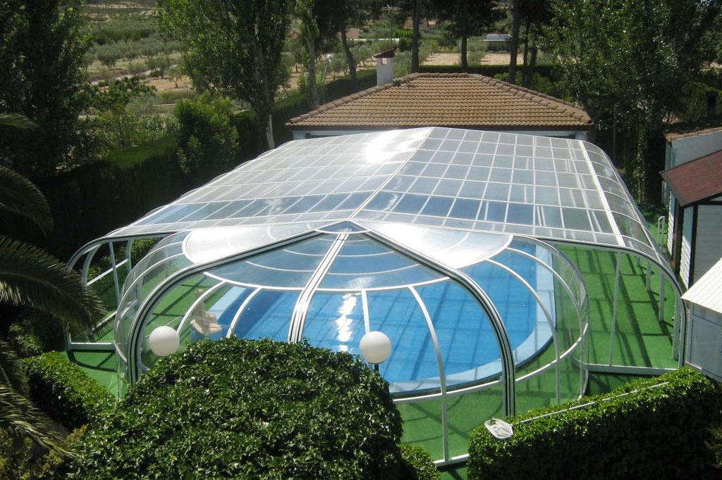 cubiertas para piscinas en vitoria