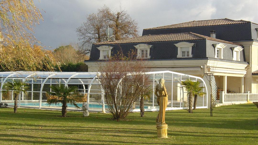 cubiertas para piscinas en Granada