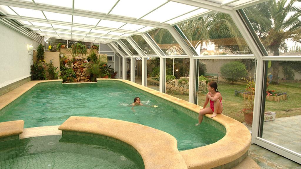 cubiertas para piscinas ávila