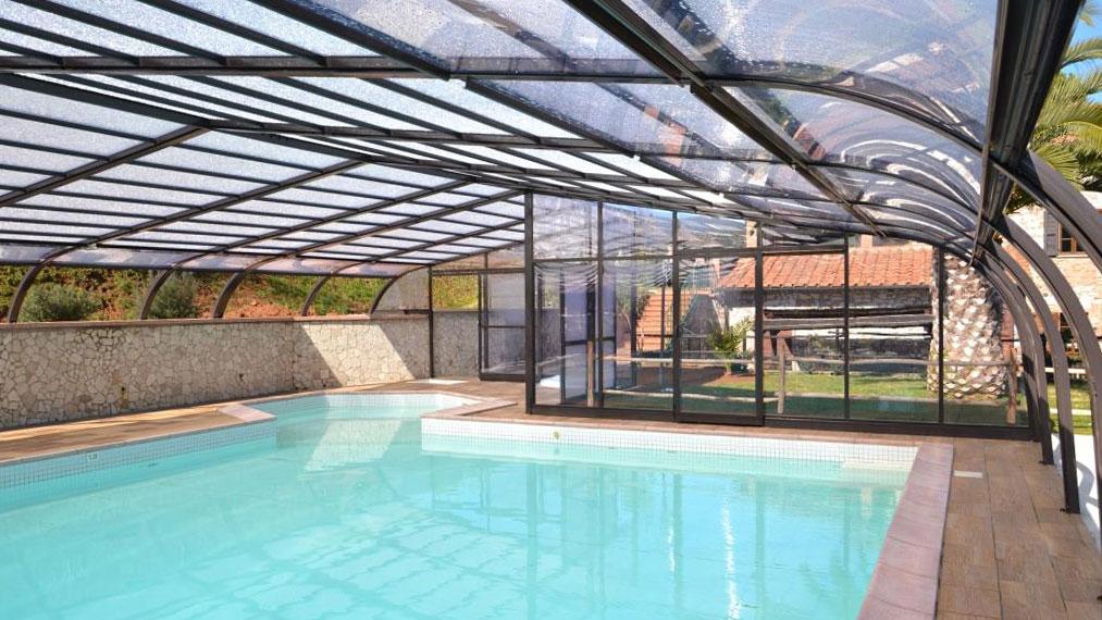 cubiertas para piscina en Jaén