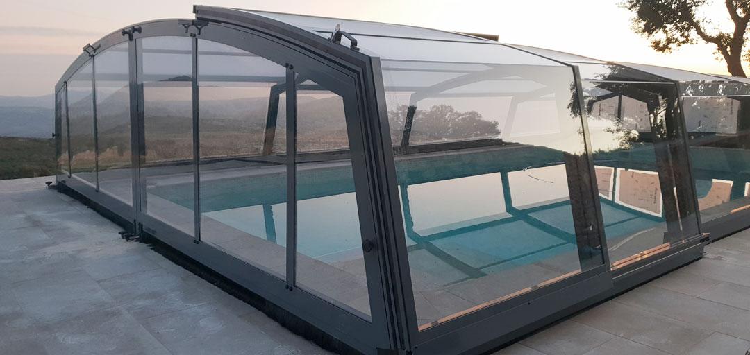cubiertas para piscina girona