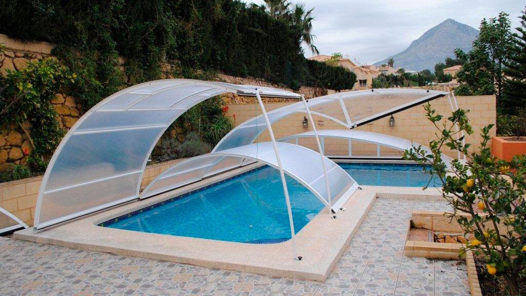 cubiertas para piscina en La rioja