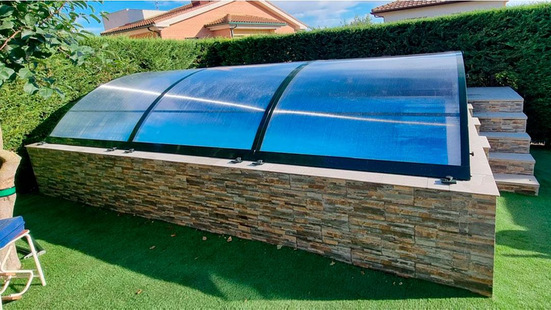 cubiertas para piscina en Teruel