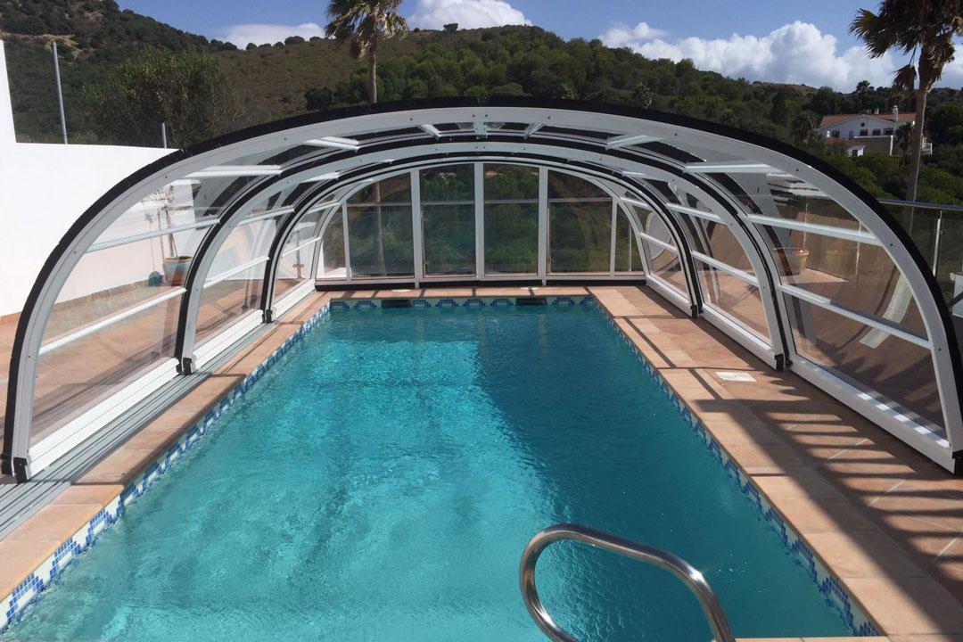 cubiertas para piscina la gomera