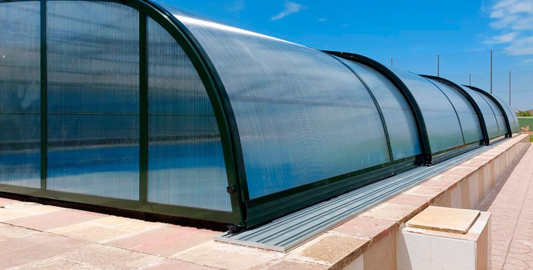 cubiertas para piscina en Segovia