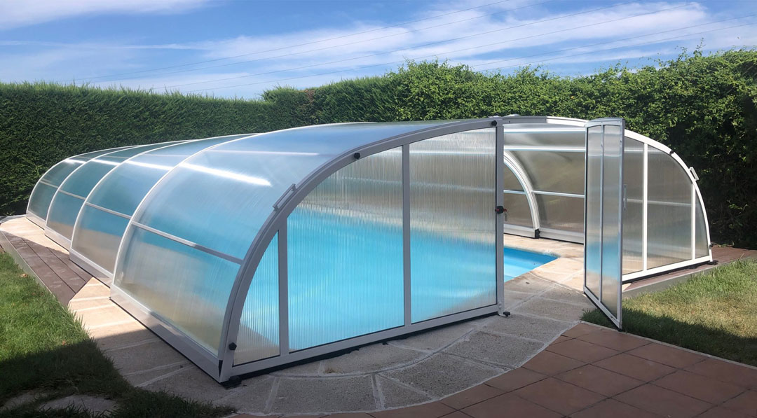 cubiertas para piscina en Tenerife