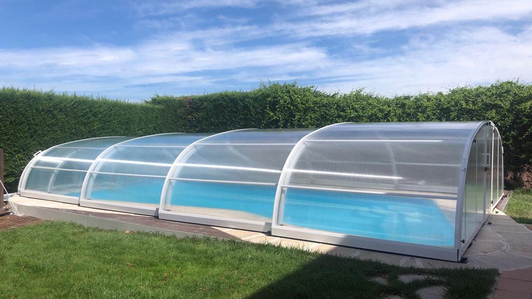 cubiertas de piscina en Valladolid