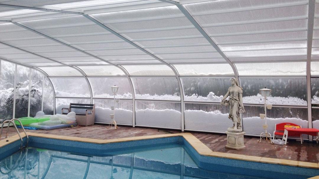 cubiertas para piscina burgos