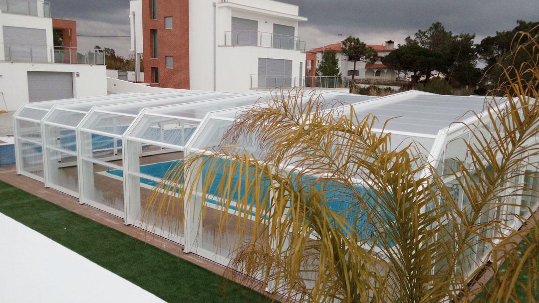 cubiertas para piscina cáceres