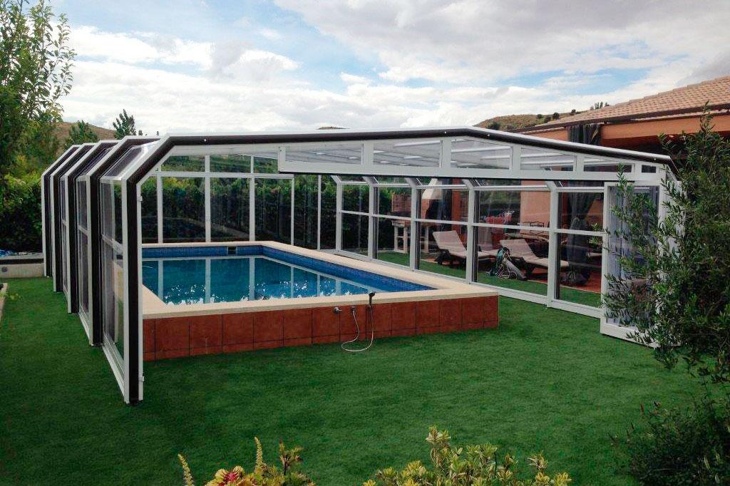 cubiertas para piscinas formentera