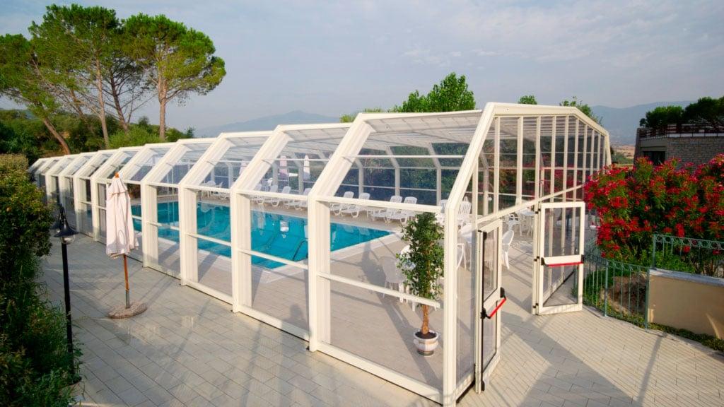 cubiertas para piscina La Palma