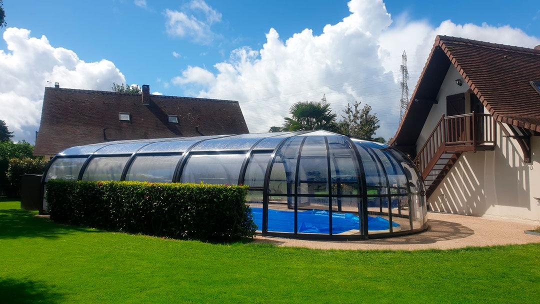 cubiertas para piscina en Salamanca