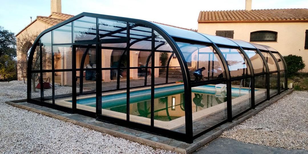 cubiertas para piscina cantabria