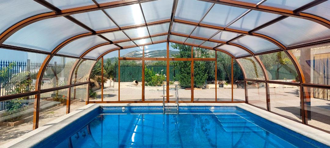 cubiertas para piscina en Soria