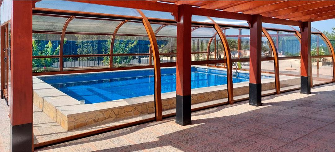 cubiertas para piscina en tarragona