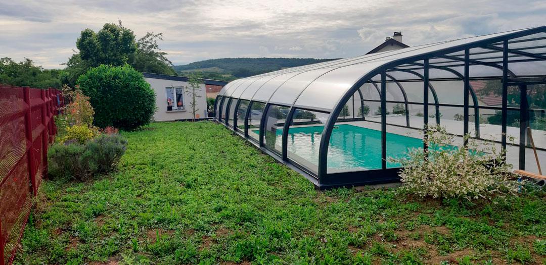 cubiertas para piscina en Zamora