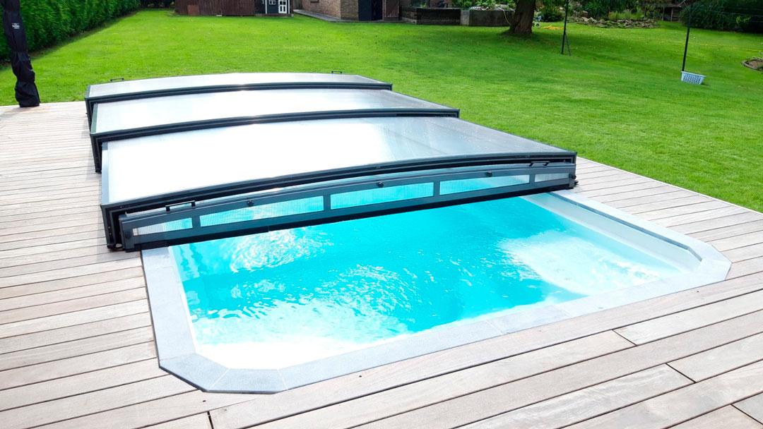 cubiertas para piscina en Navarra